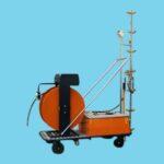 Electric pipe rail spray trolley SW08