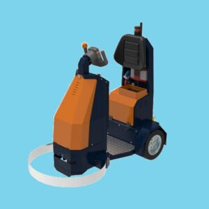 BeTrac Electric Tow tractor