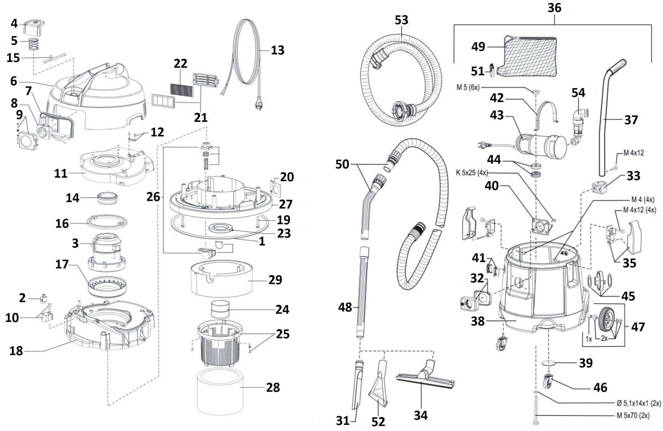 P50 waterstofzuiger