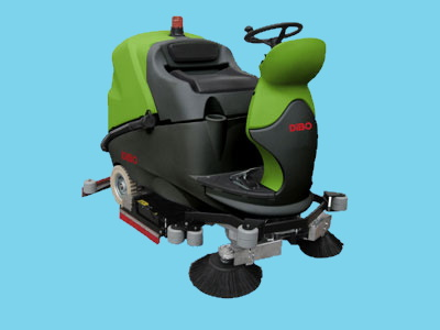 Ride on scrubber CT160-BT75R Sweep 36v 4900m2/h - 941901477