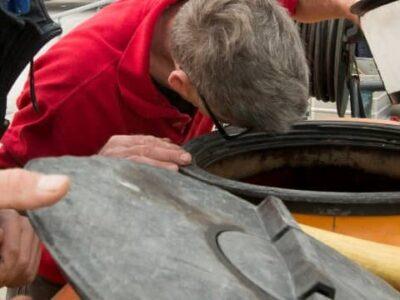 Inspectie spuitwagen